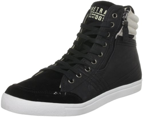 Firetrap Men's Desert Court Pu Black Fashion