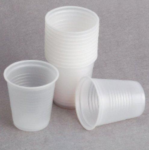 Disposable 3 Oz. Plastic Cups - 100Count
