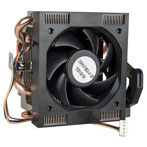 "AMD Socket AM3/AM2+/AM2/1207/939/940/754 Copper Base/Aluminum Heat Sink & 2.75"" Fan w/Copper Heatpipes & 4-Pin Connector"