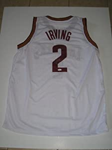 Kyrie Irving Autographed Signed White Cleveland Cavaliers Basketball Jersey #2 (JSA... by Miller