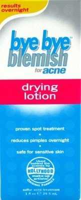 Bye Bye Blemish Dry Lotion Drying 1 oz. (3-Pack) with Free Nail File