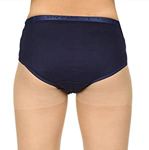 LADY CARE - 5 Days Hygine Sanitary Panty ! Comfortable fit throughout Period Days ! Inside Sanitary Pad Stabiliser helps to prevent leakage!!