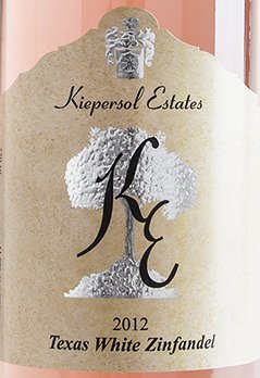 2012 Kiepersol Estates White Zinfandel, Texas 750 Ml