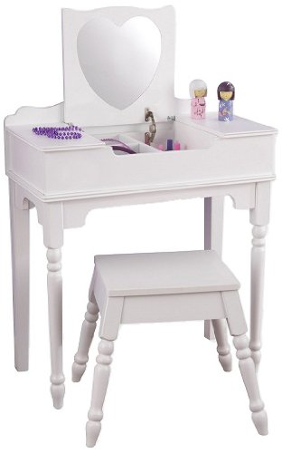 Sweetheart Vanity And Stool Coiffeur Store