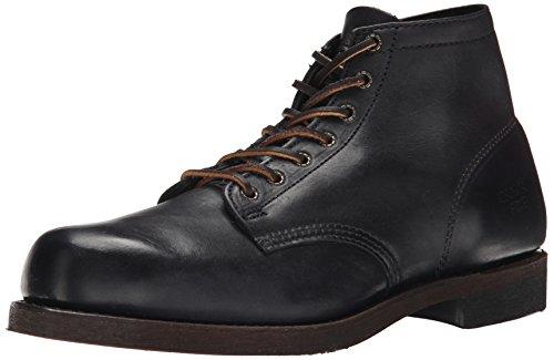frye-prison-boot-herren-klassische-stiefel-knochelhoch-schwarz-schwarz-schwarz-blk-grosse-43