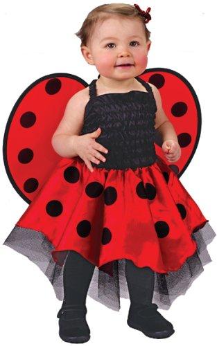 Ladybug Baby Shoes front-644790