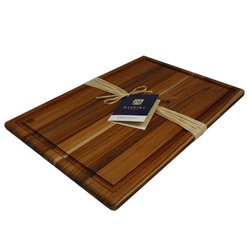 Madeira Provo Teak Edge-Grain Carving Board,