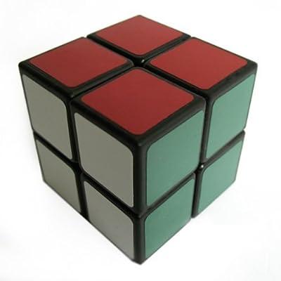 Lanlan 2x2 Speed Cube, Black by Lanlan