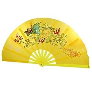 Amazon.com: Carácter del dragón chino Kongfu Imprimir Tela plegable