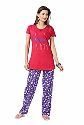 KuuKee womens graphic print nightwear
