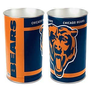 Chicago Bears Wastebasket (Bears Garbage Can compare prices)