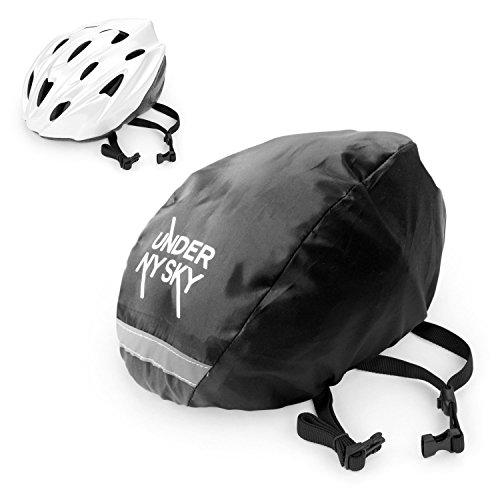 Under-NY-Sky-Elastic-Adjustable-Water-Resistant-Bike-Bicycle-Helmet-Cover