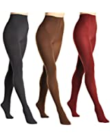 Angelina Brushed Interior Thermal Tights