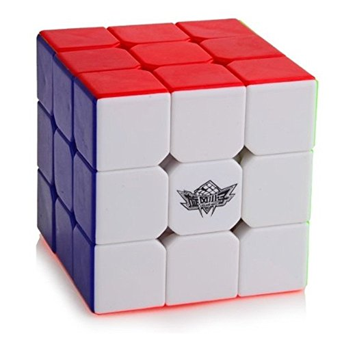 Cyclone Boys 3 x 3 FeiWu Stickerless Speed Cube - 1