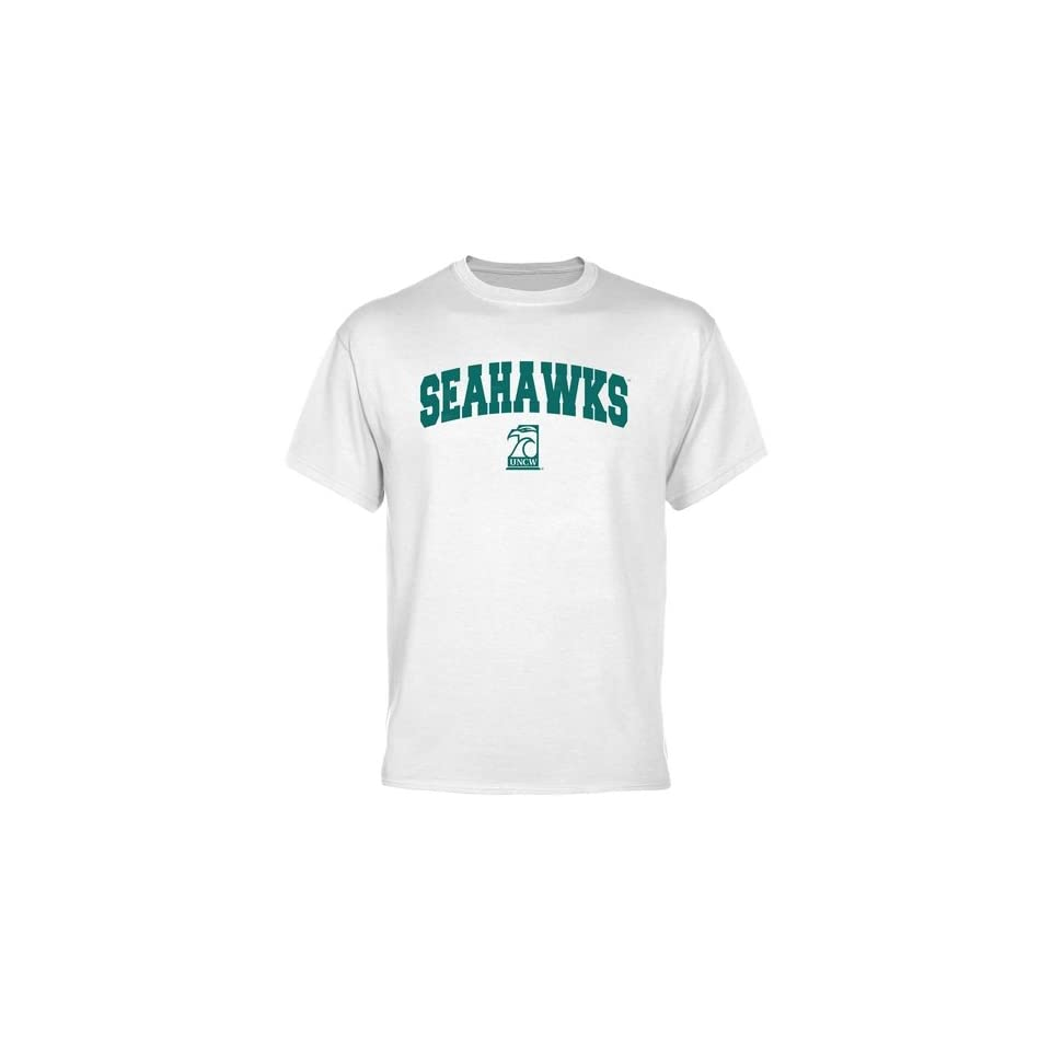 20653feed UNC Wilmington Seahawks White Logo Arch T shirt Sports on PopScreen
