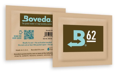 Boveda Micro Humidipak 62% 36 Pack - 1