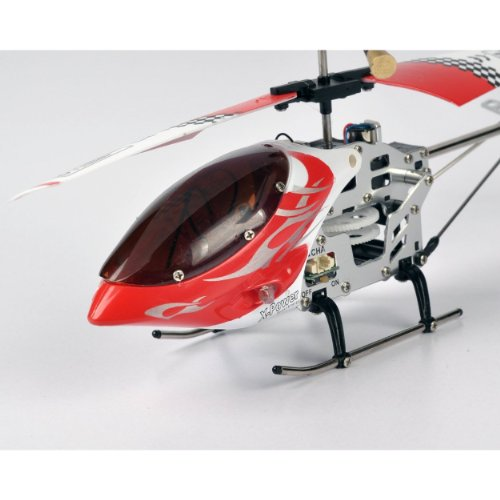 MOTA 6020 R/C Remote Control Helicopter Extreme - Red (RC) with Mini Tool Box (fs)