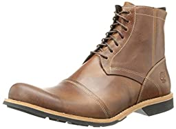 Timberland Men\'s City 6-Inch Side-Zip Boot,Burnished Tan,12 M