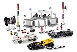 8161 * GRAND PRIX RACE * LEGO Speed Racer Series 595 Piece Building Set (Includes 7 LEGO Minifigures)