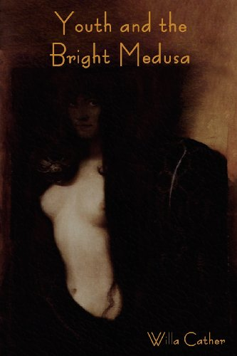 Large book cover: Youth and the Bright Medusa