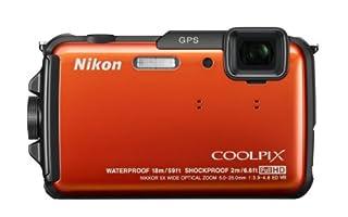 Nikon デジタルカメラ COOLPIX AW110 防水18m 耐衝撃2m サンシャインオレンジ AW110OR