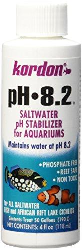 KORDON   #35354   8.2-pH Saltwater Stabilizer for Aquarium, 4-Ounce