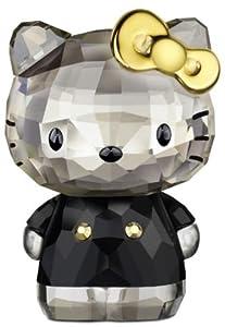 (闪耀)施华洛世奇Swarovski Hello Kitty Gold Bow 奥地利产时尚凯蒂猫金弓水晶$128.84
