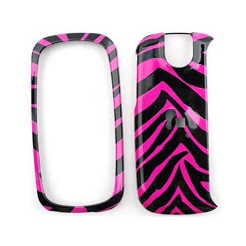 Pantech Impact P7000 Pink Zebra Skin Hard Case/Cover/Faceplate/Snap On/Housing/Protector