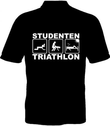 Fruit of the Loom T-Shirt - Studenten Triathlon