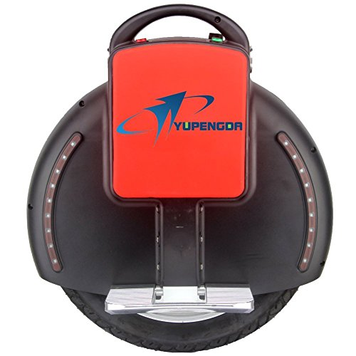Yupengda(Tm)Super Cool Fast 35Km Self Balancing One Wheel Electric Scooter With Us Charger (Black)