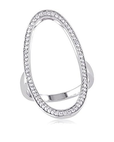 Versace 19.69 Abbigliamento Sportivo White Sapphire Oval Ring