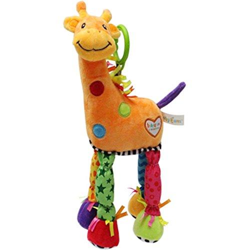 [해외]딸랑이 아기 장난감 0-36 개월 활동 제품 매달려 BABYFANS 장난감 작은 기린 침대 선반/BABYFANS Toys Little Giraffe Bed Lathe Hanging Rattles Baby Toy 0-3