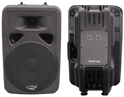 Pyle-Pro Pphp1293 - 800 Watt 12'' Two-Way Plastic Molded Loudspeaker