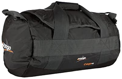 Vango 45 Litre Cargo Holdall Duffle Luggage Bag - Black by Brand