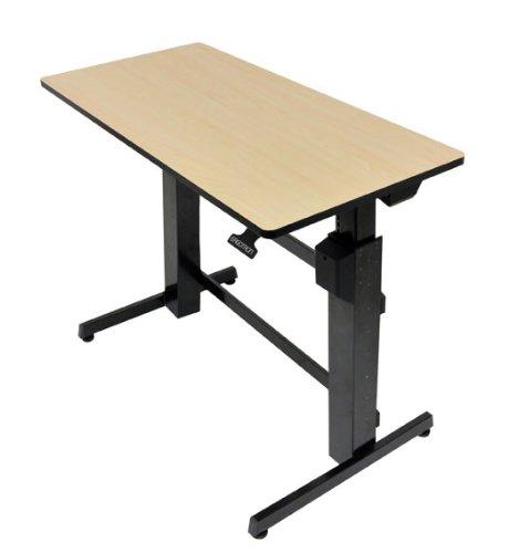Ergotron Workfit-D, Sit-Stand Desk (Birch)