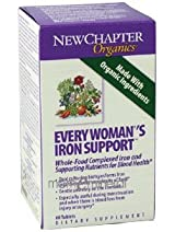 Every Woman's Iron Support 60 Tablets by New Chapter