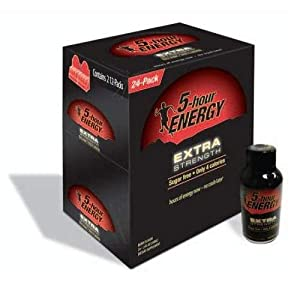 5-Hour Energy Extra Strength (24 Bottles Berry)