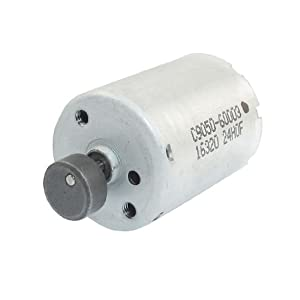 3000-6000RPM DC 6-12V Dual Shaft Vibration Mini Motor by Amico