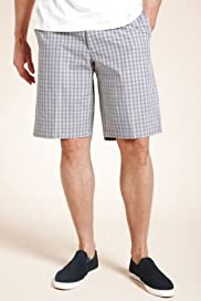 Blue Harbour Pure Cotton Checked Chino Shorts [T17-7750B-S]