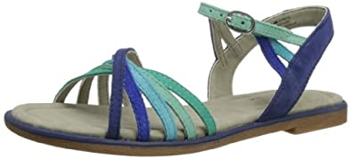 Hush Puppies Caposhi, Women's Sandals, Blue Multi Suede, 3 UK