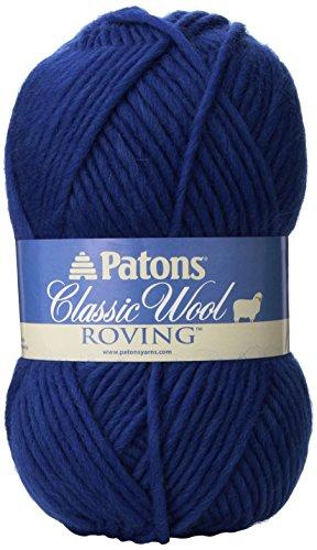 Patons Classic Wool Roving Yarn, Royal