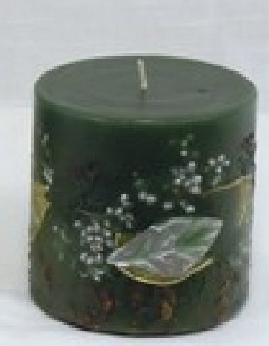 Evergreen Holiday Botanical Candle