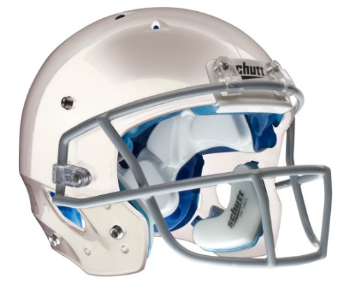 Schutt Youth DNA Pro + Football Helmet without Faceguard (White, Medium )