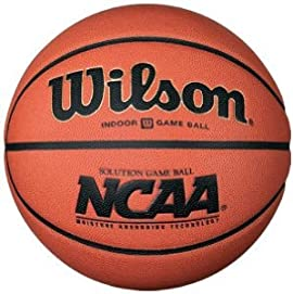 Wilson B0700 Solution Men's Official NCAA Composite Leather Basketball