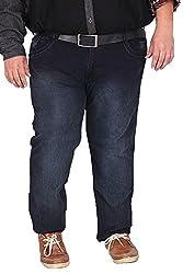 Xmex Men's Denim Jeans (AF-1003D.BLUE, Dark Blue, 52)