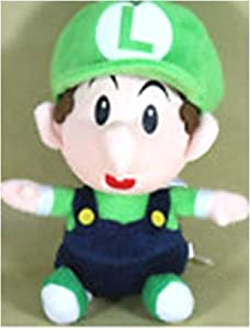 "Baby Luigi Soft Plush Doll Approx 9"""