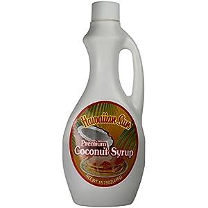 Hawaiian Sun Coconut Syrup 15.75 oz