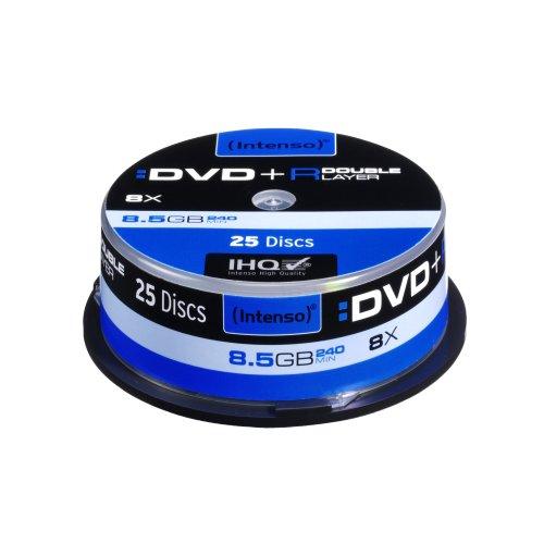 Intenso Dvd+r 8.5GB - Confezione da 25