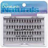 Ardell False Eyelashes 6 pack DuraLash Naturals Medium Black Individual Lashes
