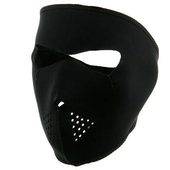 Neoprene Full Face Mask - Black W11S23D